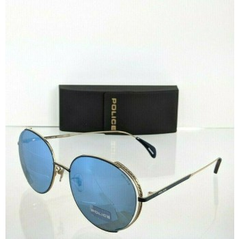 Police SPL 669G 179B Blue & Gold Sunglasses