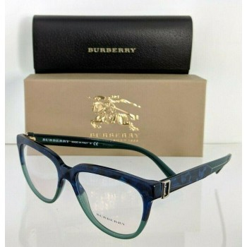 Burberry BE 2268 3677 Blue Eyeglasses