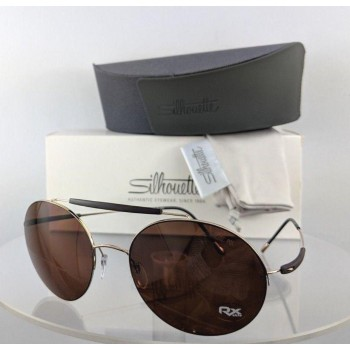 Silhouette 8659 20 6201 Gold Sunglasses