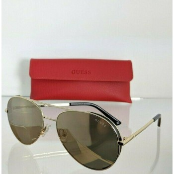 Guess GU7607 32G Gold Sunglasses