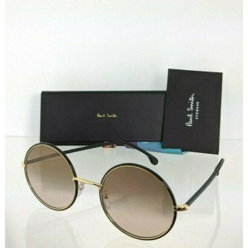 Paul Smith Alford PSSN004V2 01 Black & Gold Sunglasses