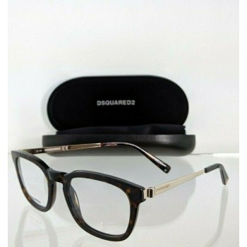 Dsquared 2 DQ 5233 052 Tortoise & Gold Eyeglasses