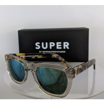 Retrosuperfuture 0Hp Super Ciccio Tortoise Clear Sunglasses