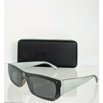 Balenciaga BB0080SA 002 Gray Sunglasses