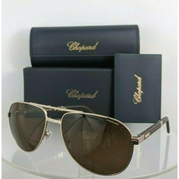 Chopard SCH B81 A39P Gold & Brown Sunglasses