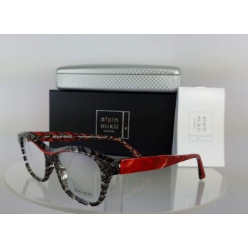 Alain Mikli A0 3006 D021 Red Blend Eyeglasses
