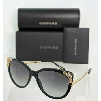 Chopard SCH233SN 0700 Blakc & Gold Sunglasses
