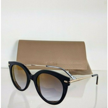 Maxmara MM NEEDLE VI KY2FQ Blue & Rose Gold Sunglasses