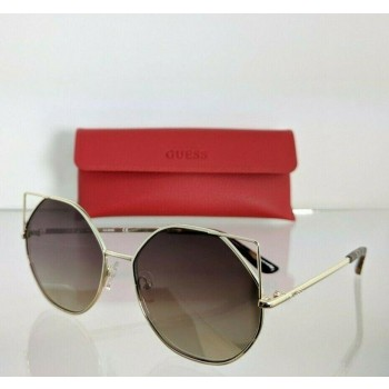 Guess GU 7527 32G Gold Sunglasses