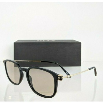 Mont Blanc MB 698S Black & Gold Sunglasses