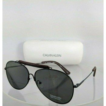 Calvin Klein CK 18100S 001 Black Brown Sunglasses