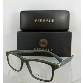 Versace 3253 5193 Green and Grey Eyeglasses