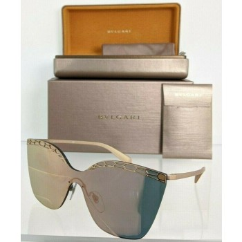 Bvlgari 6093 2014/4Z Rose Gold Sunglasses