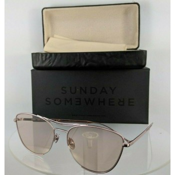 Sunday Somewhere Jarjar 156 Rose Gold Sunglasses