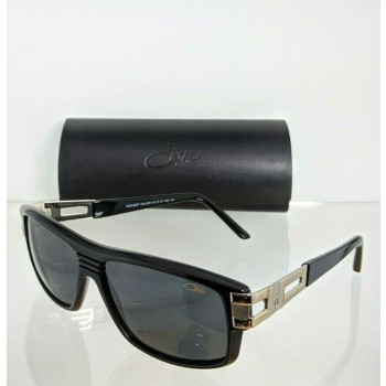 Cazal 8027 001 Gold & Black Sunglasses