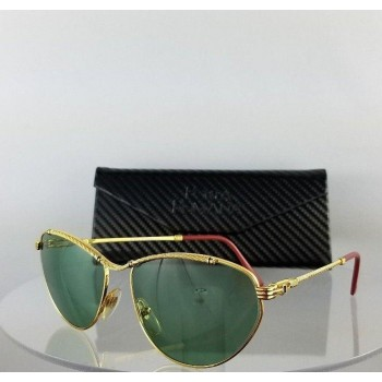 Porta Romana Mod.691 Gold Metal Green Sunglasses
