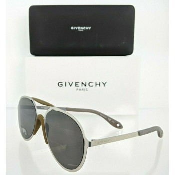 Givenchy GV 7039/S 011N Silver Brushed Sunglasses