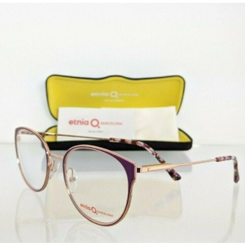 Etnia Barcelona MANILA PUPK Purple & Rose Gold Eyeglasses