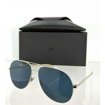 Christian Dior Astral B4EKU Gold & White Sunglasses