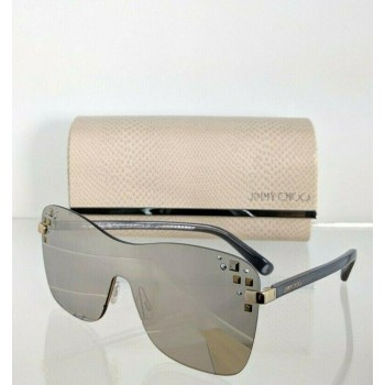 Jimmy Choo Mask/S 138M3 Silver/Grey Sunglasses