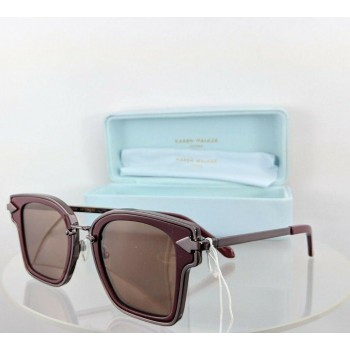 Karen Walker Rebellion Burgundy Sunglasses