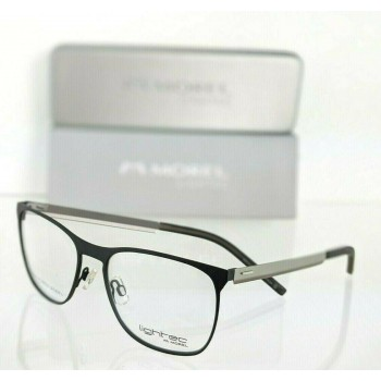 Lightec 8089L NG 021 Black & Gray Eyeglasses