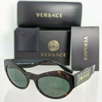 Versace VE 4356 108/71 Dark Brown Tortoise Sunglasses
