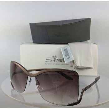 Silhouette 8145 40 6236 Brown Sunglasses