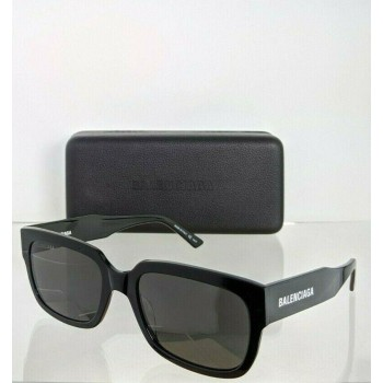 Balenciaga BB0049SA 001 Black Sunglasses