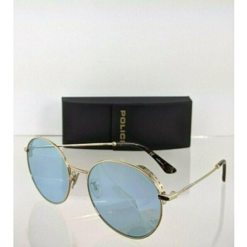 Police Highway Two 6 SPL 637 300X Gold Sunglasses