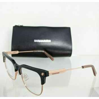 Dsquared 2 DQ5243 A01 Rose Gold/Black Eyeglasses