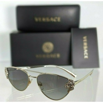 Versace 2195 B 1252/11 Gold Sunglasses