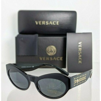Versace VE 4356 GB1/87 Black & Gold Sunglasses