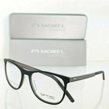 Lightec 8094L GG022 Black & Gray Eyeglasses