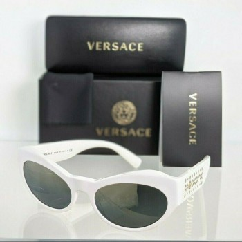 Versace VE 4356 401/Y9 White & Gold Sunglasses