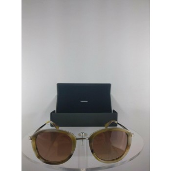 Vera Wang Estrid YG Brown Horn Sunglasses