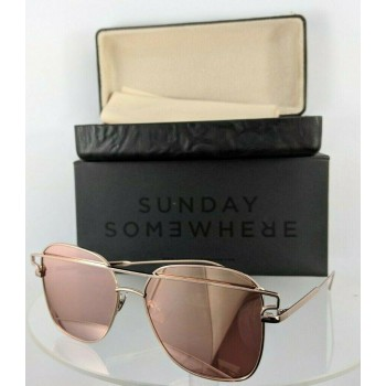 Sunday Somewhere Jesse 152 Rose Gold Sunglasses