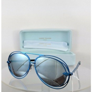 Karen Walker Jacques Blue Sunglasses