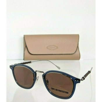Tod's TO218 90E Blue & Brown Sunglasses