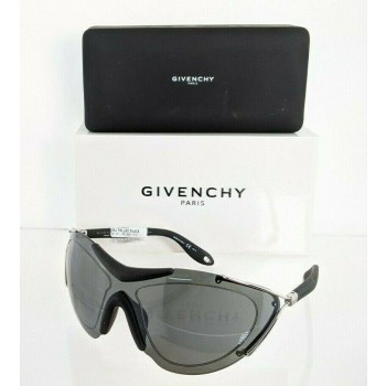 Givenchy GV 7013/S 84JT Black & Silver Sunglasses