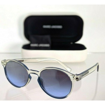 Marc Jacobs 224/S QM49U Clear & Blue Sunglasses