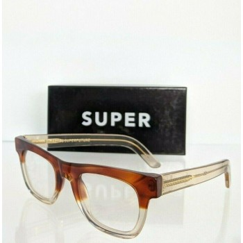 Retrosuperfuture 965 0T Clear & Brown Two Toned Eyeglasses