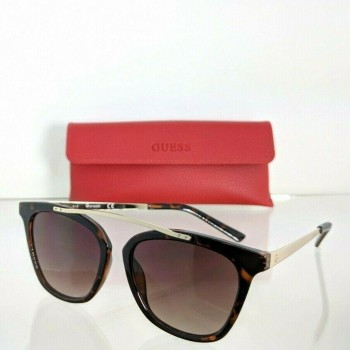 Guess GG1154 52F Tortoise & Gold Sunglasses