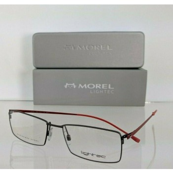 Lightec 7382L BG011 Black & Red Eyeglasses
