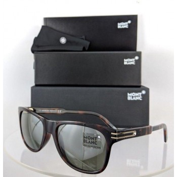 Mont Blanc MB 641/S 52Q Brown Tortoise Sunglasses