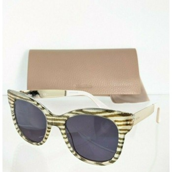 Maxmara MM Textile ZY5IR Multicolored with Gold Sunglasses