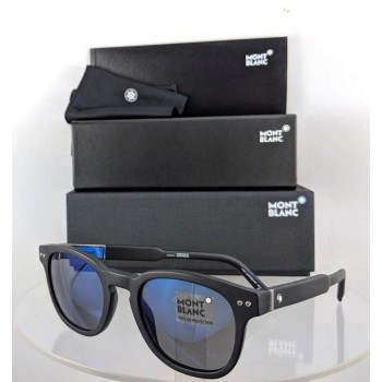 Mont Blanc MB 693S 02X Black Sunglasses