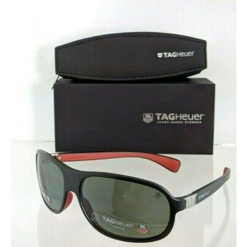 Tag Heuer TH 9301 102 Black/Red Sunglasses