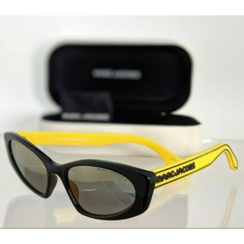 Marc Jacobs 356/S 40GJO Yellow & Black Sunglasses