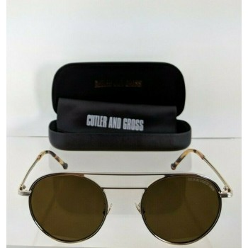 Cutler And Gross London 1269 03 Light Gold Sunglasses